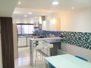 Remodelación Cocina y Comedor de Diario: Cocinas de estilo  por Estudio Nicolas Pierry,