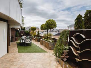 Terraza: Terrazas de estilo  de Slabon Forja Creativa