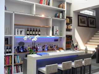 Concrete counter for a private Modern hotels by Concrete LCDA Modern Concrete