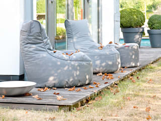 Global Bedding GmbH & Co.KG Balconies, verandas & terraces Furniture Synthetic Grey