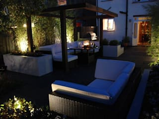 Garden in West London Modern style gardens by Paul Newman Landscapes Modern