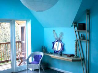 Kaya House Eclectic style bedroom by Kaya Design Eclectic