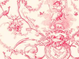 Tissus divers:  de style  par Thevenon 1908