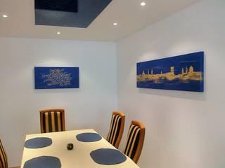 Comedores de estilo moderno de Wohnen & Kunst Moderno