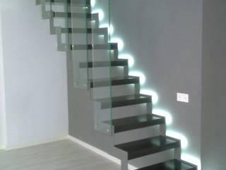 escalera de diseño Casas de riarsa 2006 constructores en burgos
