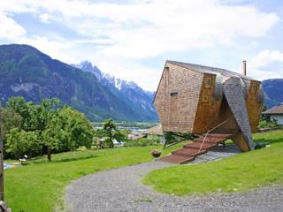 Casas de estilo  por Aberjung Design Agency, Moderno