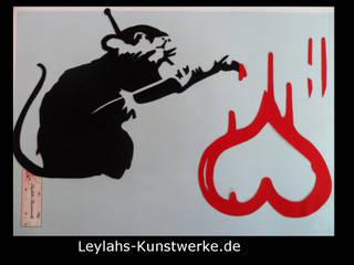 Banksy Ratten - Artikel von Leylahs-Kunstwerke