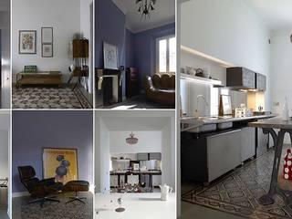 Villa Federica: Case in stile in stile Eclettico di I4ARCH