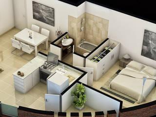 Interiorismo & Arquitectura: Casas de estilo  de Josep Sanclemente