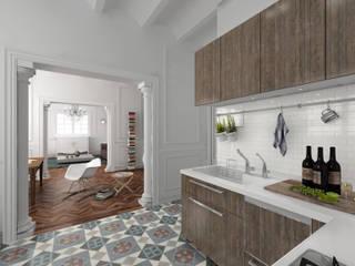 Reforma apartamento:  de estilo  de AC Studio