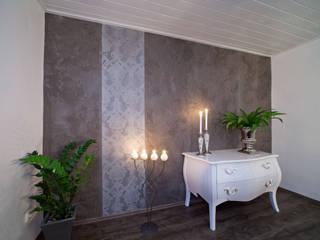 Wohnraum-Wandgestaltung mit Marmorputz, Buchholz/Westerwald Moderne Esszimmer von Einwandfrei - innovative Malerarbeiten oHG Modern