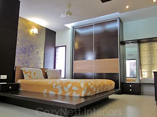 Chinta Residence Modern style bedroom by Cozy Nest Interiors Modern