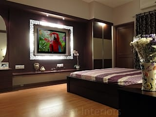 Agarwal Residence Modern style bedroom by Cozy Nest Interiors Modern