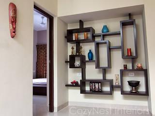 Subramanian Residence Cozy Nest Interiors Ruang Keluarga Modern