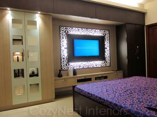 Recámaras de estilo  por Cozy Nest Interiors, Moderno