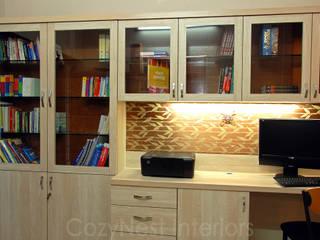 Oficinas de estilo  por Cozy Nest Interiors