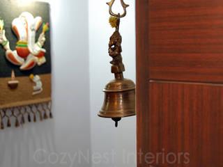 Ramaiyan Residence. Modern Houses by Cozy Nest Interiors Modern