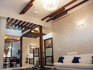 A.B.Residence Modern Living Room by Cozy Nest Interiors Modern