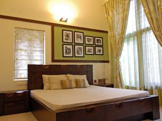 A.B.Residence Modern Bedroom by Cozy Nest Interiors Modern