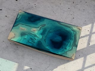 THE ABYSS TABLE:   by Duffy London,