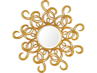 Mirror Sun Rays: eclectic  by Adonis Pauli HOME JEWELS, Eclectic