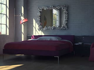 Mirror Diana: eclectic  by Adonis Pauli HOME JEWELS, Eclectic
