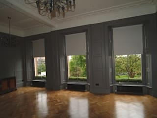 Tv Presenters Colin & Justins Home Glasgow by The UK's Leading Wall Panelling Experts Team