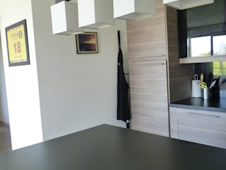 Aménagement d'une cuisine à Lardenne (31) Audrey Ardalan Cuisine moderne
