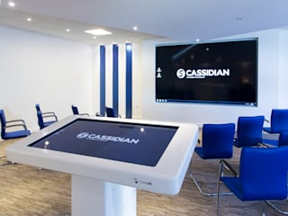 Airbus Customers Experience Centre - Formally Cassidian Modern offices & stores by Paramount Office Interiors Modern