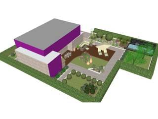Modern Garden di Studio di Progettazione e Interior Design Cinzia Simonini