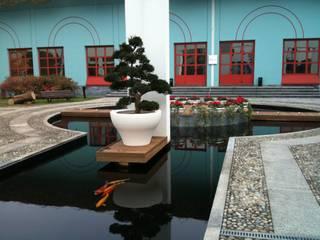 Edificios de oficinas de estilo asiático de Locus Pocus Studio Asiático