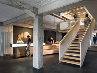 Edificios de Oficinas de estilo  por kinzo-berlin, Ecléctico