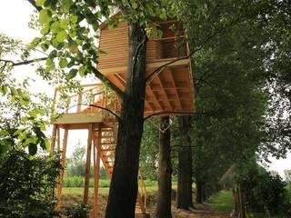Treehouse PADOVA:  in stile  di Nicola Preti - Architecture, Planning and Preservation-