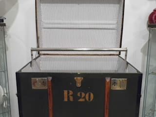 Vintage Steamer Trunk Travers Antiques BedroomWardrobes & closets
