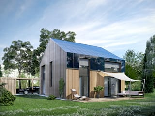 ecohome 4.2 Casas estilo moderno: ideas, arquitectura e imágenes