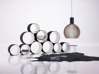 Flexi Tube:  Wohnzimmer von Kißkalt Designs