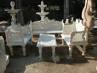 Luxury Marble Sofa: classic  by Anzalna Trading Company, Classic