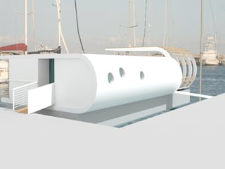 Modern Yachts and Jets by Laura Marini Architetto Modern