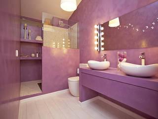 Arquitectos Madrid 2.0 Modern style bathrooms