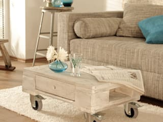 Paletta Living roomSide tables & trays Wood White