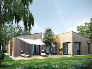 Casas modernas de ecohome 4.2 Moderno
