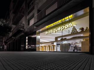 Restaurantes de estilo  por Nan Arquitectos, Moderno