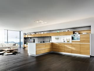 modern Kitchen by Eckhart Bald Naturmöbel
