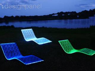 Innovatives Wellness-Produkt: die LED-Design-Liege von Designpanel - Elements for innovative architecture Ausgefallen