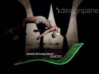 Innovatives Wellness-Produkt: die LED-Design-Liege:   von Designpanel - Elements for innovative architecture