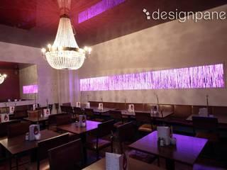 Leuchtender Wandschmuck Moderne Gastronomie von Designpanel - Elements for innovative architecture Modern