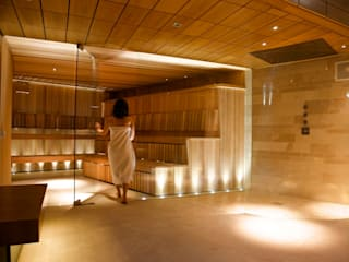 Bespoke Custom Built Saunas:   by Leisurequip Limited