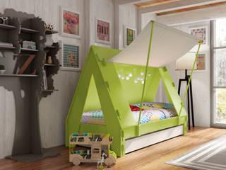 Dormitorios infantiles  de estilo  por Mathy by Bols