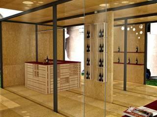 Wine Temporary Pavilion di Studio Hub - Officina Creativa Minimalista