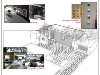 Modern Garden by Laura Marini Architetto Modern